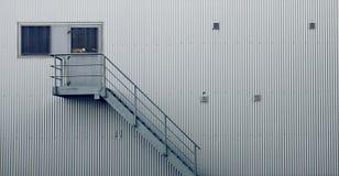 Porta da fábrica Fotografia de Stock