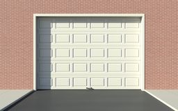 Porta da garagem ilustração do vetor