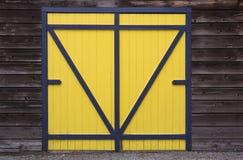 Porta da garagem Fotografia de Stock Royalty Free