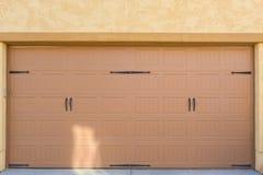 Porta da garagem Fotos de Stock