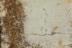Porta da garagem ou folha oxidada do ferro Imagens de Stock Royalty Free