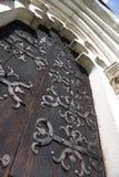Porta da igreja Fotografia de Stock Royalty Free