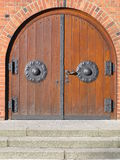 porta da igreja fotografia de stock