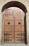 Porta da igreja Imagens de Stock