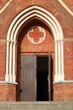 Porta da igreja imagens de stock royalty free