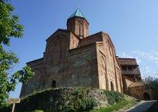 Porta da igreja do castelo do monastério de Gremi foto de stock royalty free
