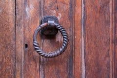 Porta da madeira contínua Fotografia de Stock Royalty Free