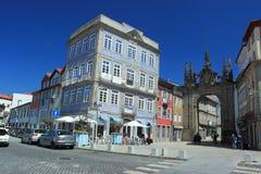 Porta da nova de Porta em Braga Fotos de Stock Royalty Free