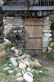 Porta da palha Fotografia de Stock