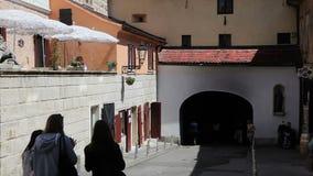 Porta da pedra de Gradec, Zagreb vídeos de arquivo