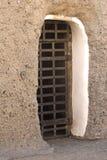 Porta da pilha de cadeia Fotografia de Stock