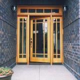 Porta da rua Imagem de Stock Royalty Free