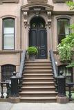 Porta da rua da casa Imagem de Stock