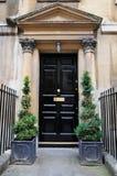 Porta da rua da casa de cidade Imagens de Stock