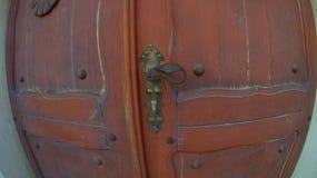 Porta da rua da igreja Fotografia de Stock