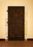 Porta da rua de madeira Imagens de Stock Royalty Free