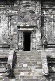 Porta da rua de um templo Hindu Fotos de Stock