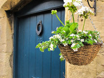 Porta da rua inglesa do estilo Foto de Stock Royalty Free