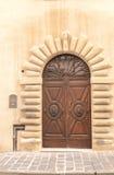 Porta da rua italiana Fotografia de Stock