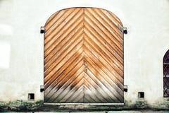 Porta da rua velha Imagem de Stock