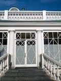 Porta da rua velha Imagem de Stock Royalty Free