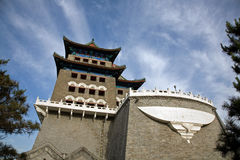 A porta da rua ZhengYangMen Imagens de Stock Royalty Free