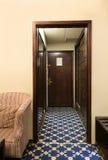 Porta da sala de hotel Fotografia de Stock
