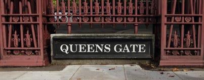 Porta das rainhas Imagem de Stock Royalty Free