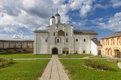 Porta de água para bloquear a igreja da transfiguração fotos de stock