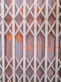 Porta de aço Imagem de Stock