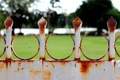 Porta de aço Fotografia de Stock Royalty Free