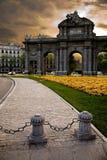 Porta de Alcala Fotografia de Stock