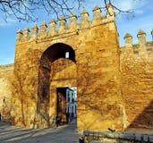 Porta de Almodovar, paredes medievais de Córdova, Espanha Fotos de Stock Royalty Free