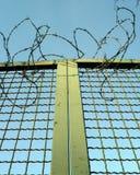 Porta de Barbwire Imagem de Stock