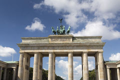 Porta de Berlim - de Brandemburgo Imagens de Stock Royalty Free
