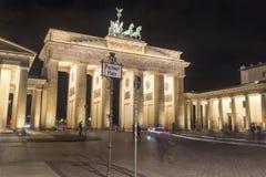 Porta de Berlim - de Brandemburgo Fotos de Stock Royalty Free