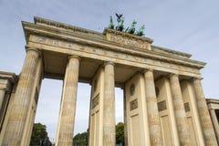 Porta de Berlim - de Brandemburgo Foto de Stock