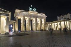 Porta de Berlim - de Brandemburgo Imagem de Stock
