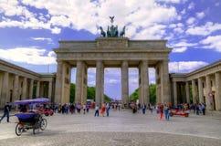 Porta de Brandebourg Foto de Stock Royalty Free