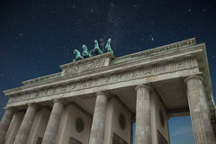Porta de Brandebourg Fotos de Stock Royalty Free