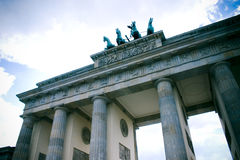 Porta de Brandebourg, Berlim Foto de Stock Royalty Free
