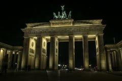 Porta de Brandebourg Berlim Fotos de Stock Royalty Free