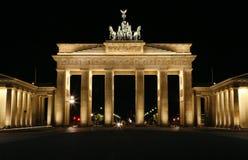 A porta de Brandebourg - Berlim, Alemanha. Fotos de Stock Royalty Free