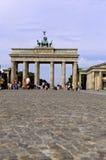 Porta de Brandebourg Berlim, Alemanha Fotografia de Stock Royalty Free