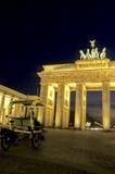 Porta de Brandebourg Berlim, Alemanha Fotografia de Stock