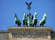 Porta de Brandebourg em Berlim Imagem de Stock