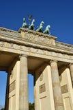 Porta de Brandebourg em Berlim Imagem de Stock Royalty Free
