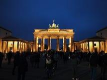 Porta de Brandebourg em Berlim Foto de Stock