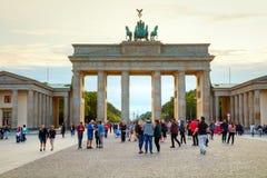 Porta de Brandebourg em Berlim, Alemanha Imagem de Stock Royalty Free