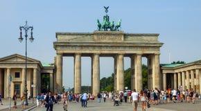 Porta de Brandebourg em Berlim, Alemanha foto de stock royalty free